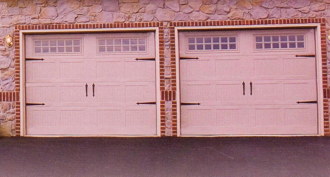 Heritage Series Steel Carriage House Garage Doors